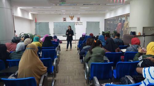 Pertemuan Pertama Belajar Bahasa Mandarin Kerjasama PKBM PPI Taiwan dengan GWO Taiwan
