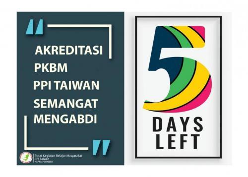 Akreditasi PKBM PPI Taiwan 13-14 Oktober 2018