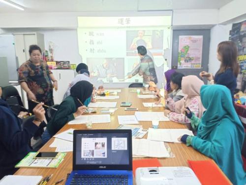 Belajar Bahasa Mandarin GWO & PKBM PPI Taiwan 13 Januari 2019